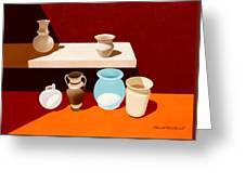 New Pottery Greeting Card