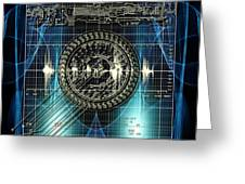 New Time Calculation Greeting Card