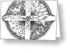 Medicine Wheel Greeting Card