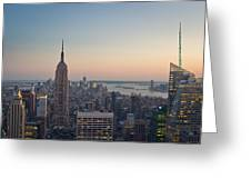 New York City - Empire State Building Greeting Card