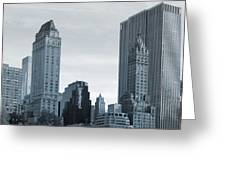 New York City From Central Park Greeting Card