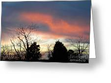 Night Falling Greeting Card