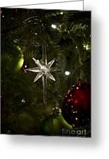 Night View Christmas Tree   1 Of 4 Greeting Card