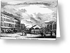 Norfolk, Virginia, 1856 Greeting Card