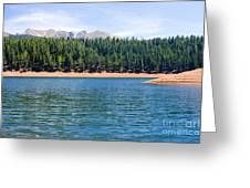 North Catamount Lake Greeting Card