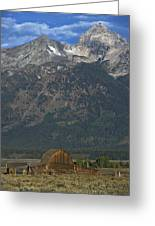 North Moulton Barn Grand Tetons Greeting Card
