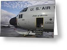 Nose Cone Detail On A Lc-130h Aircraft Greeting Card