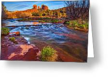 Oak Creek Greeting Card