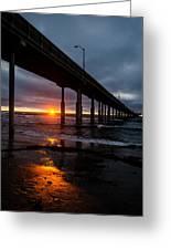 Ocean Beach Pier 1 Greeting Card
