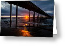 Ocean Beach Pier 2 Greeting Card