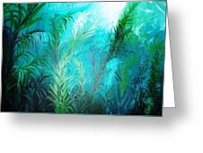 Ocean Plants Greeting Card