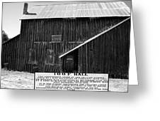 Odd Fellows Historical Building Greeting Card