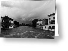 Oglio. Palazzolo Greeting Card