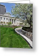 D13l-145 Ohio Statehouse Photo Greeting Card