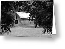 Old Barn 4 Greeting Card