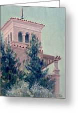 Old Bell Tower Greeting Card