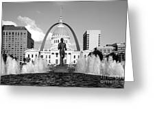 Old Courthouse Saint Louis Mo Greeting Card