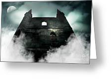 Old Haunted Castle Greeting Card
