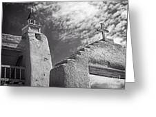 Old Mission Crosses Greeting Card
