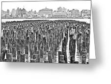 Old Piers Greeting Card