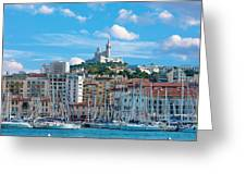 Old Port Of Marseille Greeting Card
