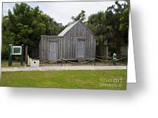 Old Post Office In Melbourne Beach Greeting Card