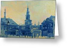 Old Poznan Greeting Card