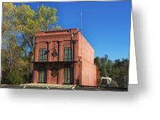 Oldest Masonic Lodge In California Greeting Card