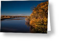 On The Rio Grande Greeting Card