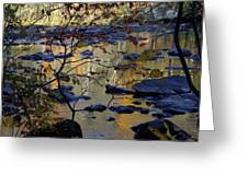 On The River Softly Greeting Card