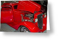 One Hot Rod Greeting Card