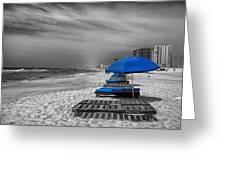 Orange Beach In Alabama Greeting Card