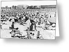 Orchard Beach In The Bronx Greeting Card