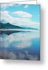 Oregon Coastline At Cannon Beach Greeting Card
