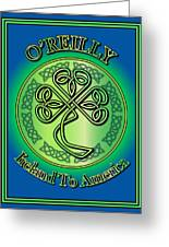 O'reilly Ireland To America Greeting Card