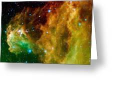 Orion-nebula Greeting Card
