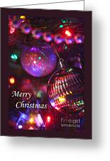 Ornaments-2160-merrychristmas Greeting Card