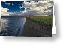 Osar Beach Iceland Greeting Card