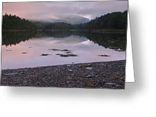 Otter Creek Dawn Reflections Greeting Card