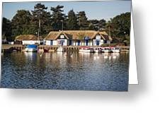 Oulton Broad Greeting Card
