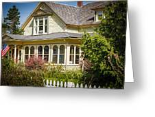 Oysterville House 6 Greeting Card