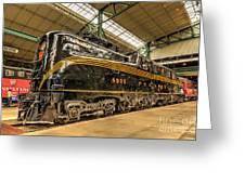 Pa Diesel Electric 4935 Greeting Card