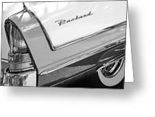 Packard Taillight Greeting Card