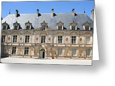 Palace Bussy Rabutin - Burgundy Greeting Card