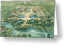 Pan-american Exposition Greeting Card