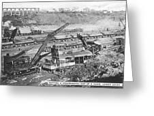 Panama Canal, 1910s Greeting Card