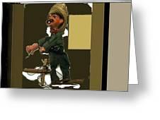Pancho Villa Puppet Greeting Card