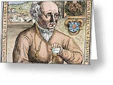 Paracelsus (1493-1541) Greeting Card