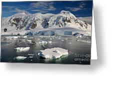 Paradise Bay, Antarctica Greeting Card