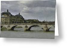 Paris 3 Greeting Card